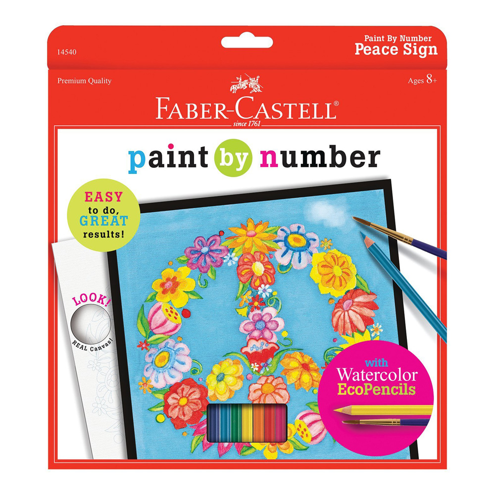 Faber-Castell Paint/Number W/C Pencil Peace