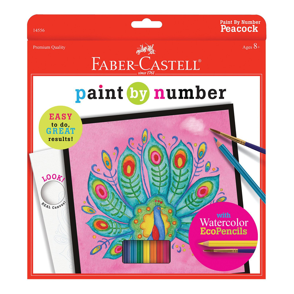 Faber-Castell Paint/Number W/C Pencil Peacock