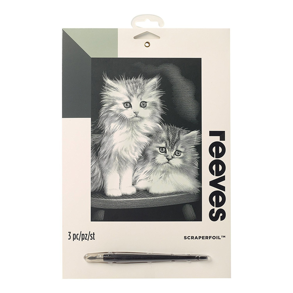 Reeves Scraperfoil: Fluffy Kittens
