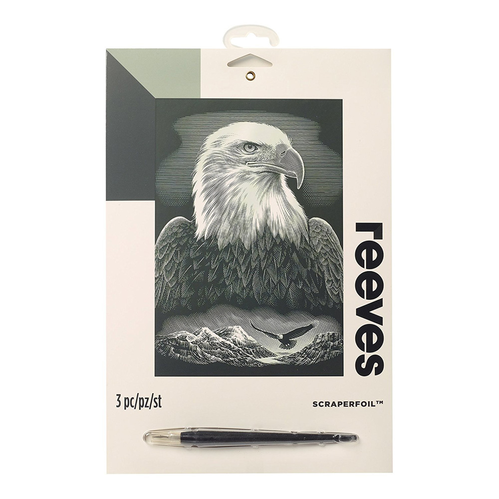 Reeves Scraperfoil: Bald Eagle