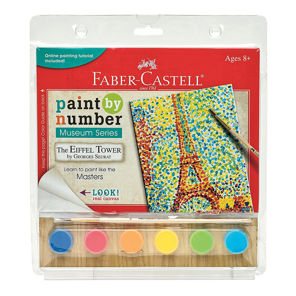 Faber Castell Paint/Number Eiffel Tower