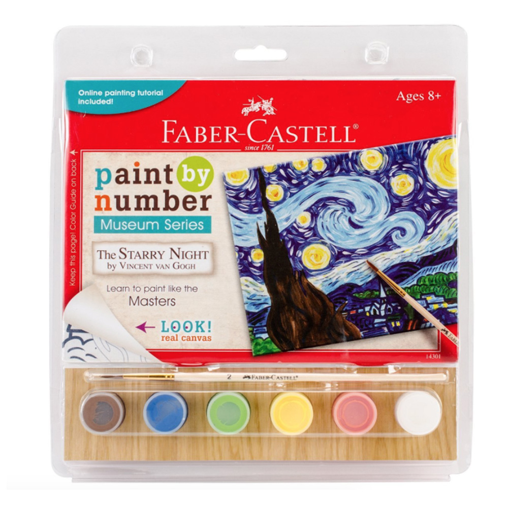 Faber Castell Paint/Number Starry Night