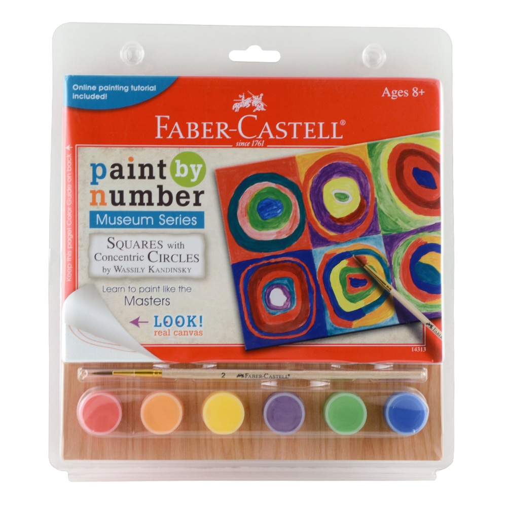 buy faber castell paintnumber squares wcircles
