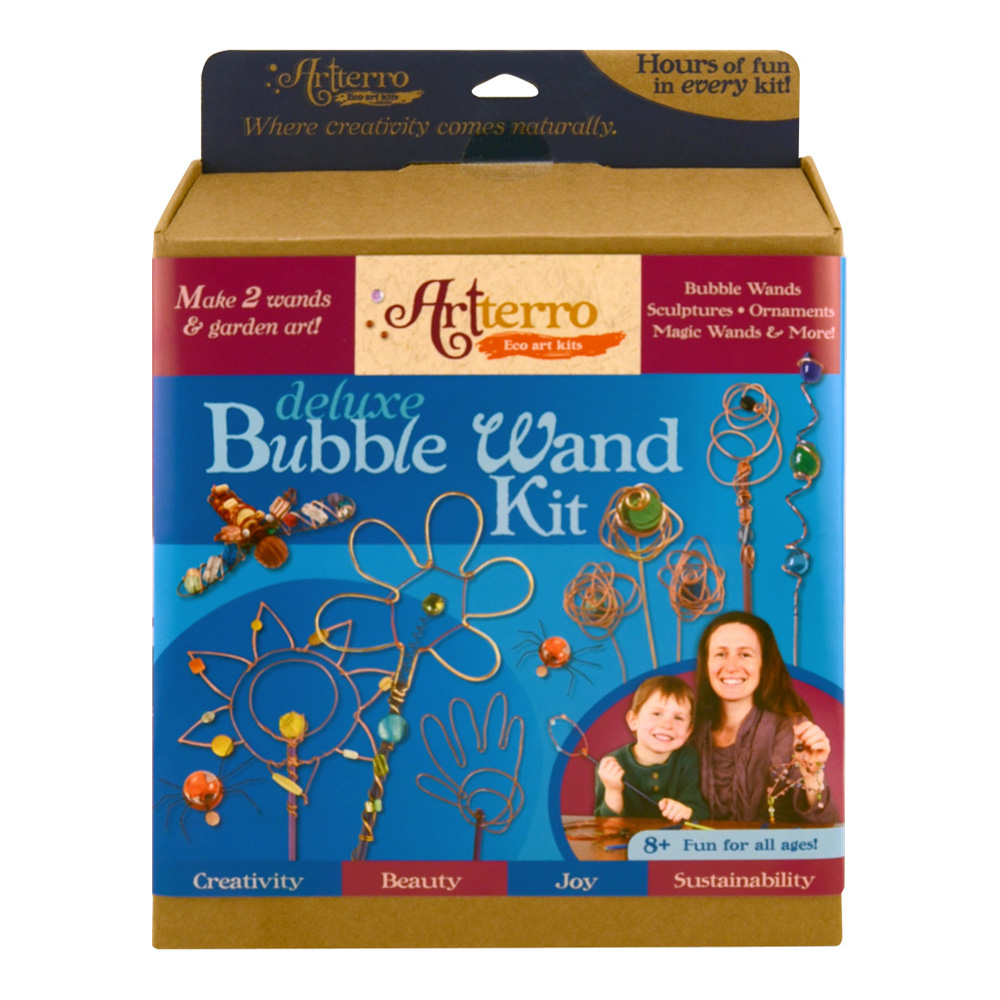 Artterro Deluxe Bubble Wands Kit