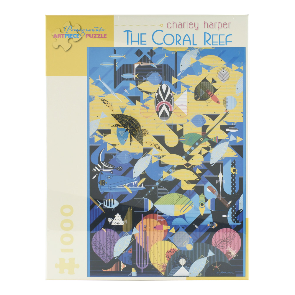 Puzzle: Charley Harper Coral Reef 1000Pcs