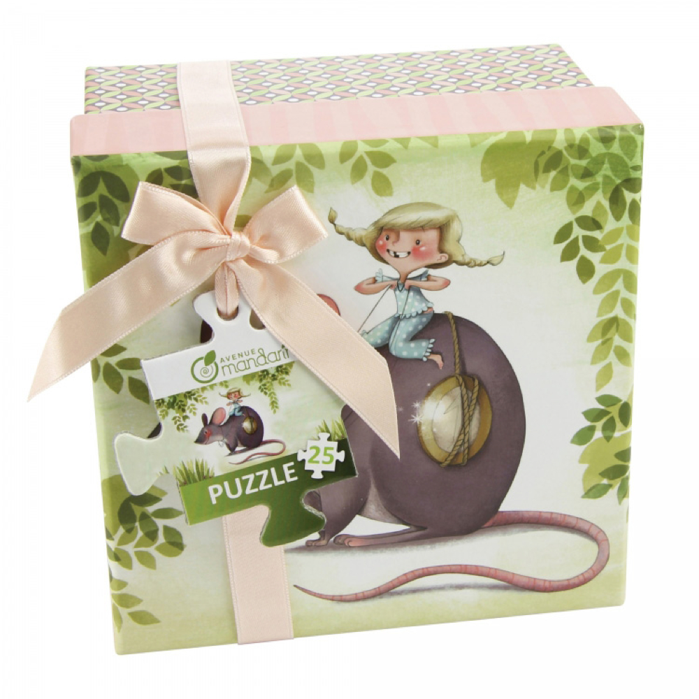 Avenue Mandarine Puzzle: Little Mouse 25Pc