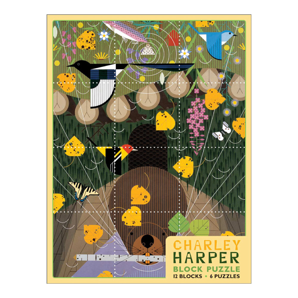 Block Puzzle: Charley Harper