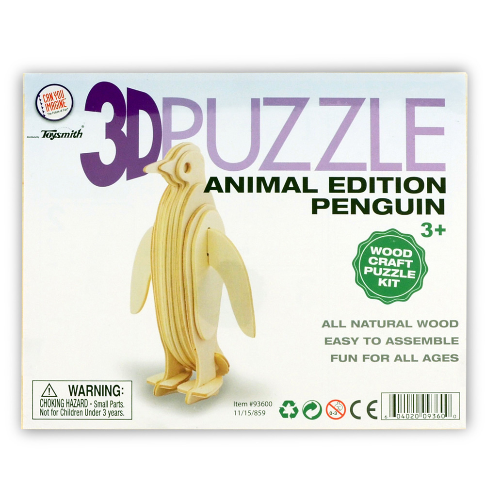 3D Animal Puzzle Assorted