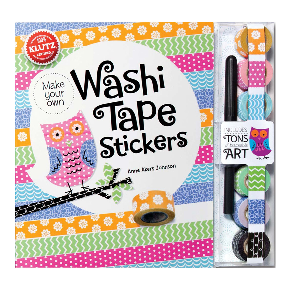Klutz Book: Washi Tape Stickers