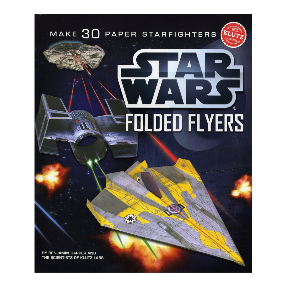 Klutz Book: Star Wars Folded Flyers