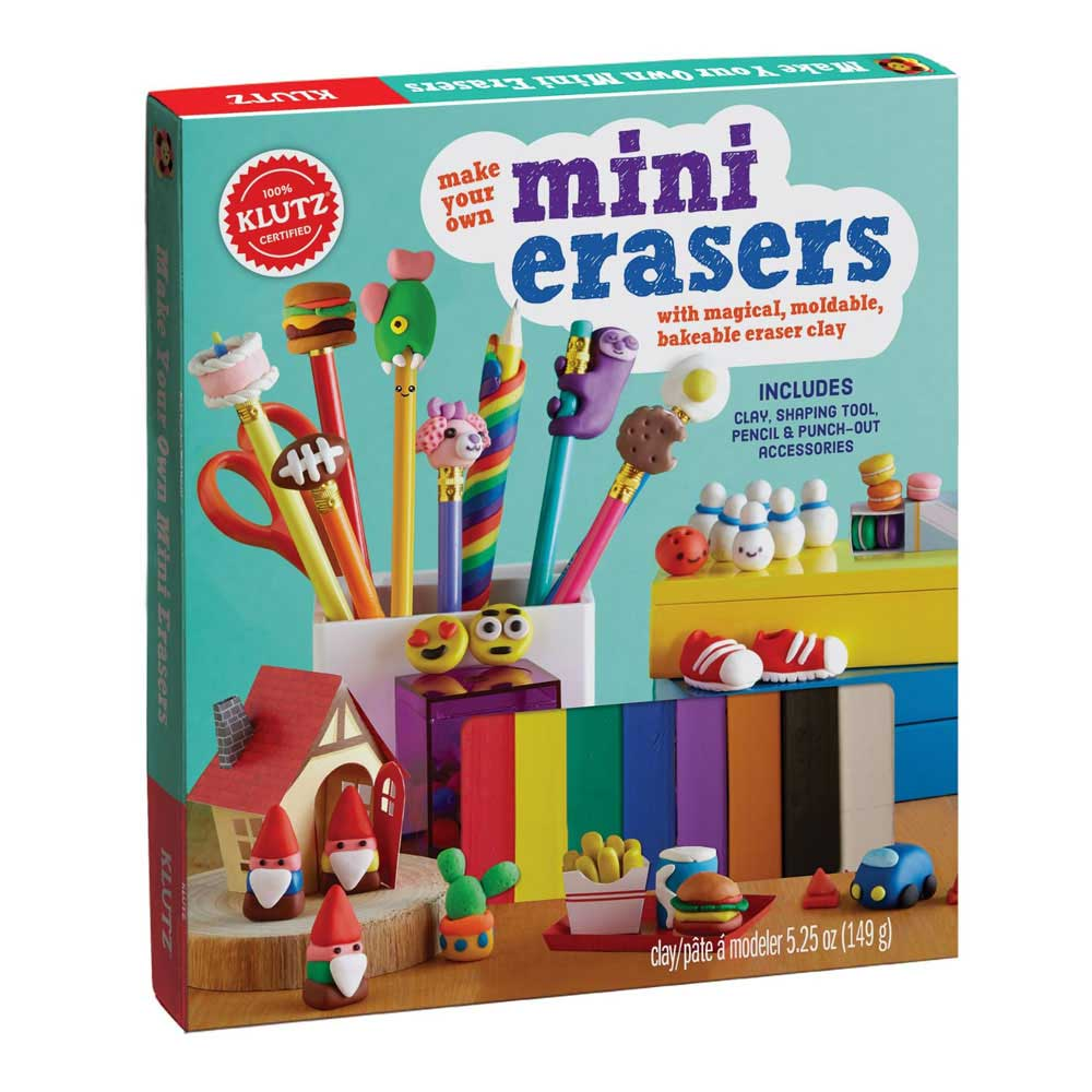 Klutz Book: Make Your Own Mini Erasers