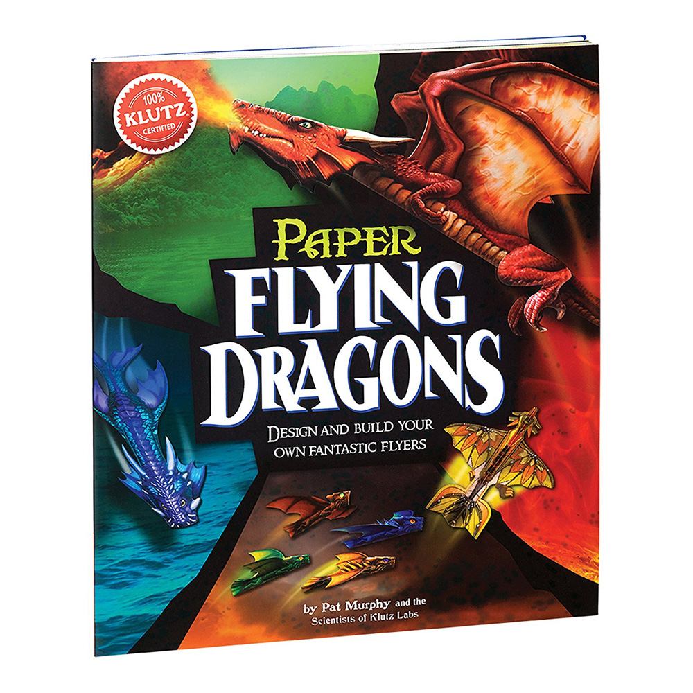 Klutz Book: Paper Flying Dragons