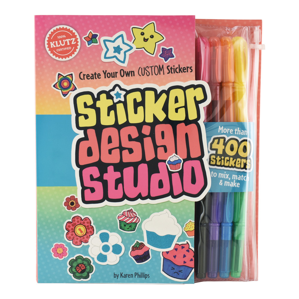 Klutz Book: Sticker Design Studio