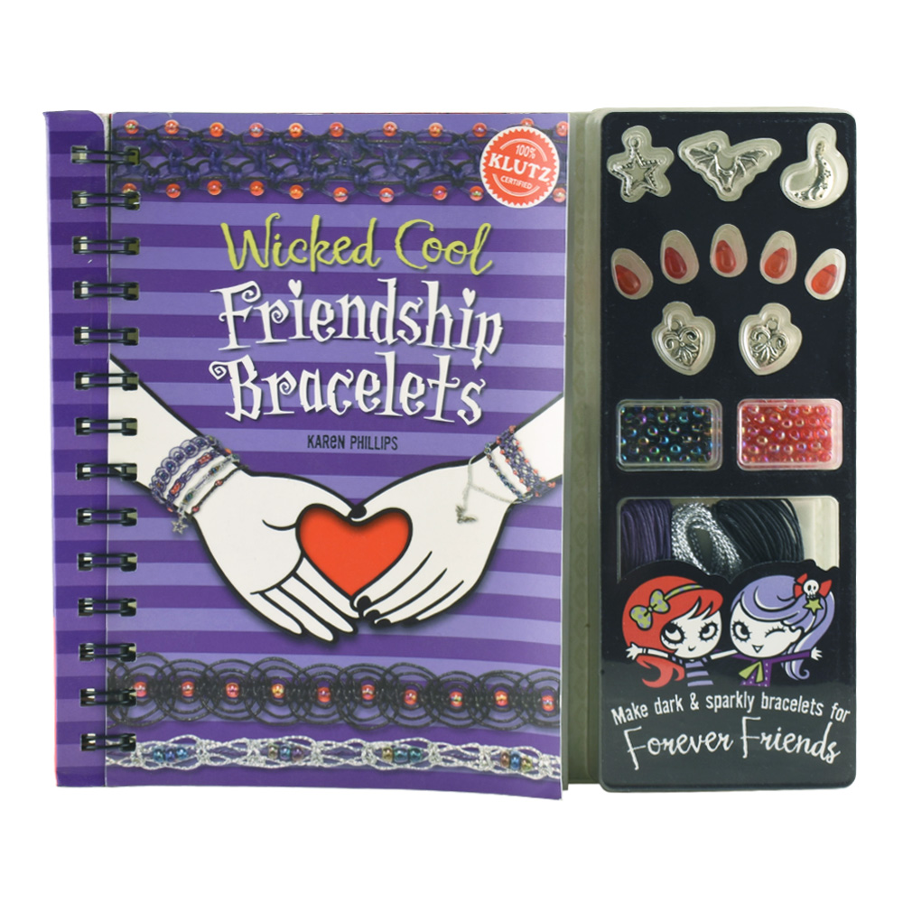 Klutz Book: Wicked Cool Friendship Bracelets