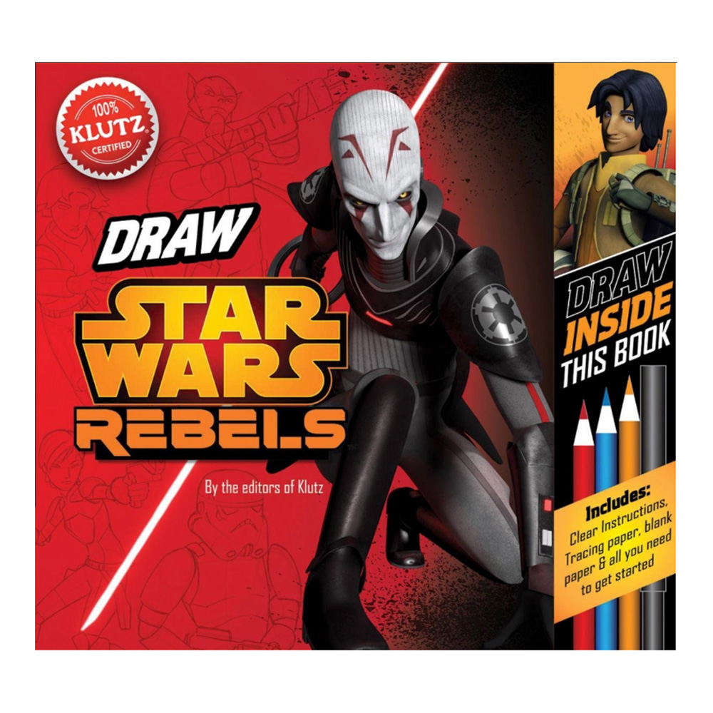 Klutz Book: Draw Star Wars Rebels