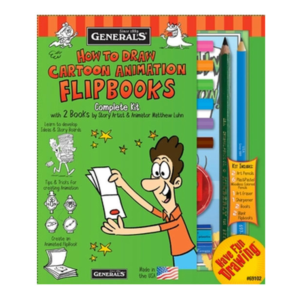 General How To Draw Flipbooks Kit