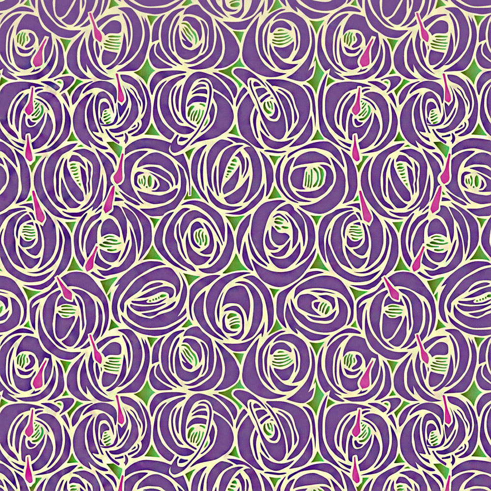 Gift Wrap: Mackintosh Roses