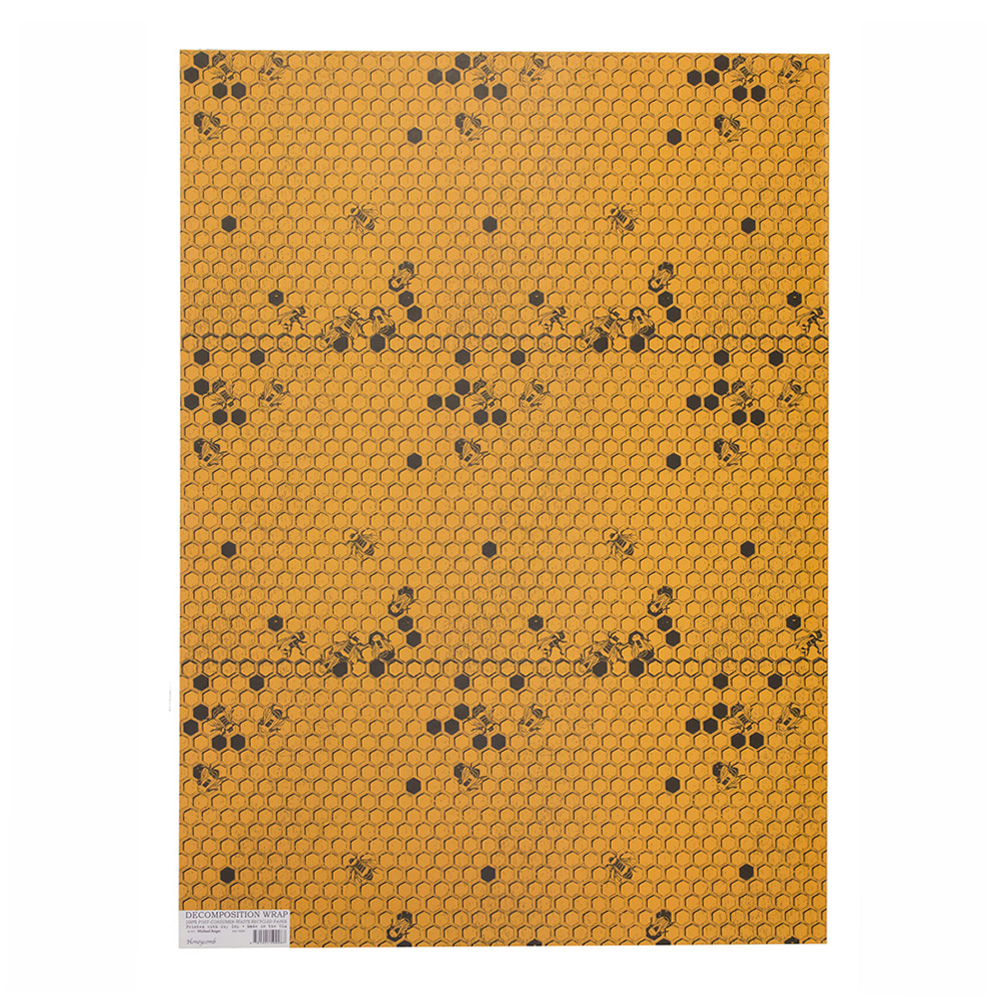 Decomposition Wrap: Honeycomb 19X27 In Sheet