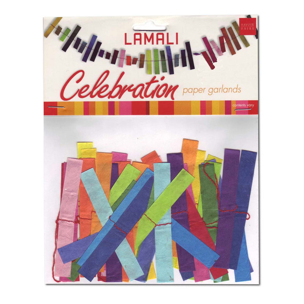 Lama Li Celebration Garland Assorted Designs