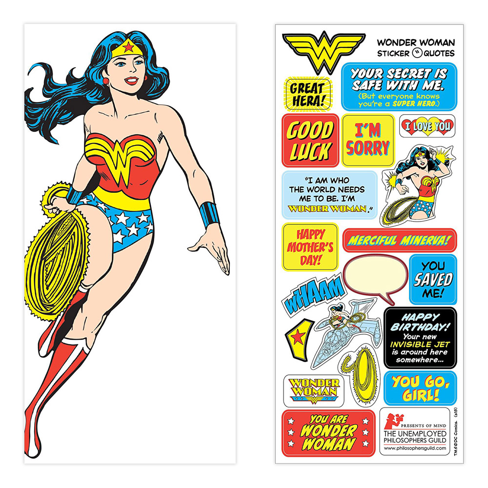 Quotable Notables Card: Wonder Woman