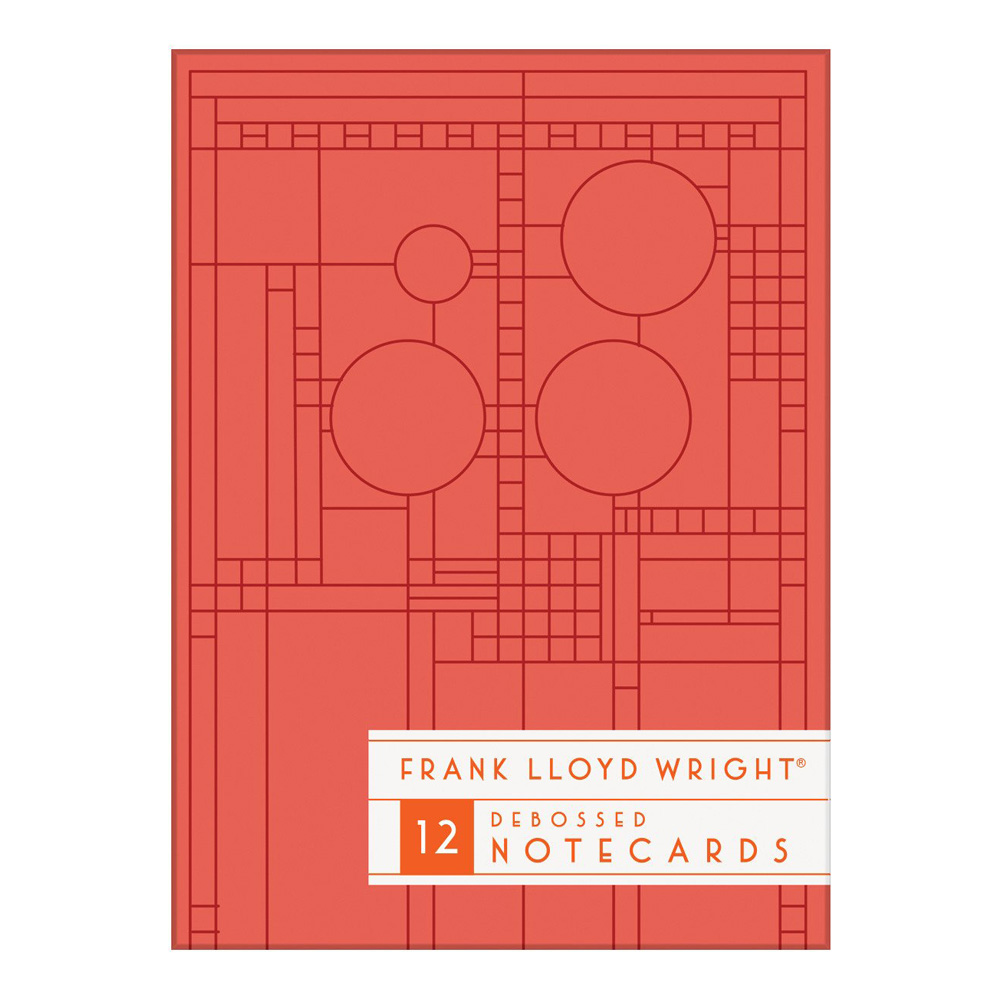 Boxed Notecards FL Wright Bright Geometric