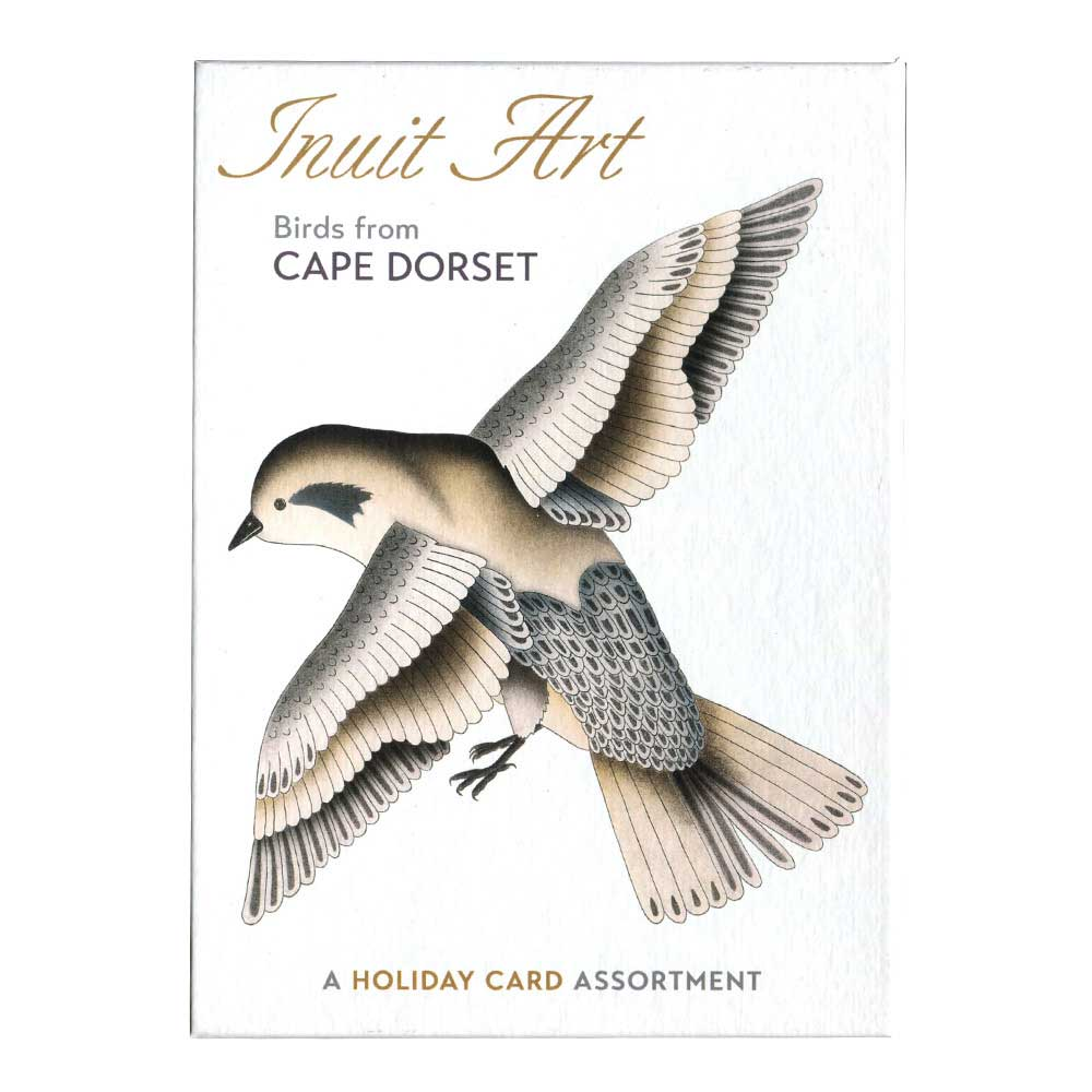 Boxed Holiday Cards: Inuit Art Birds 2016