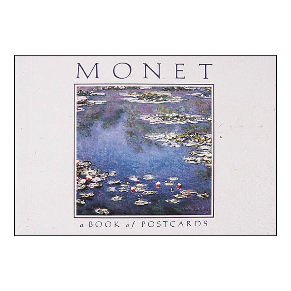 Postcard Book Monet