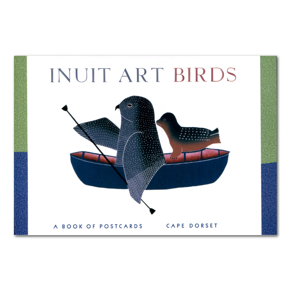 Postcard Book Inuit Art Birds