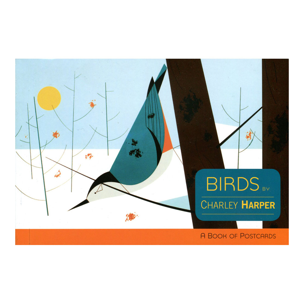 Postcard Book Charley Harper Birds