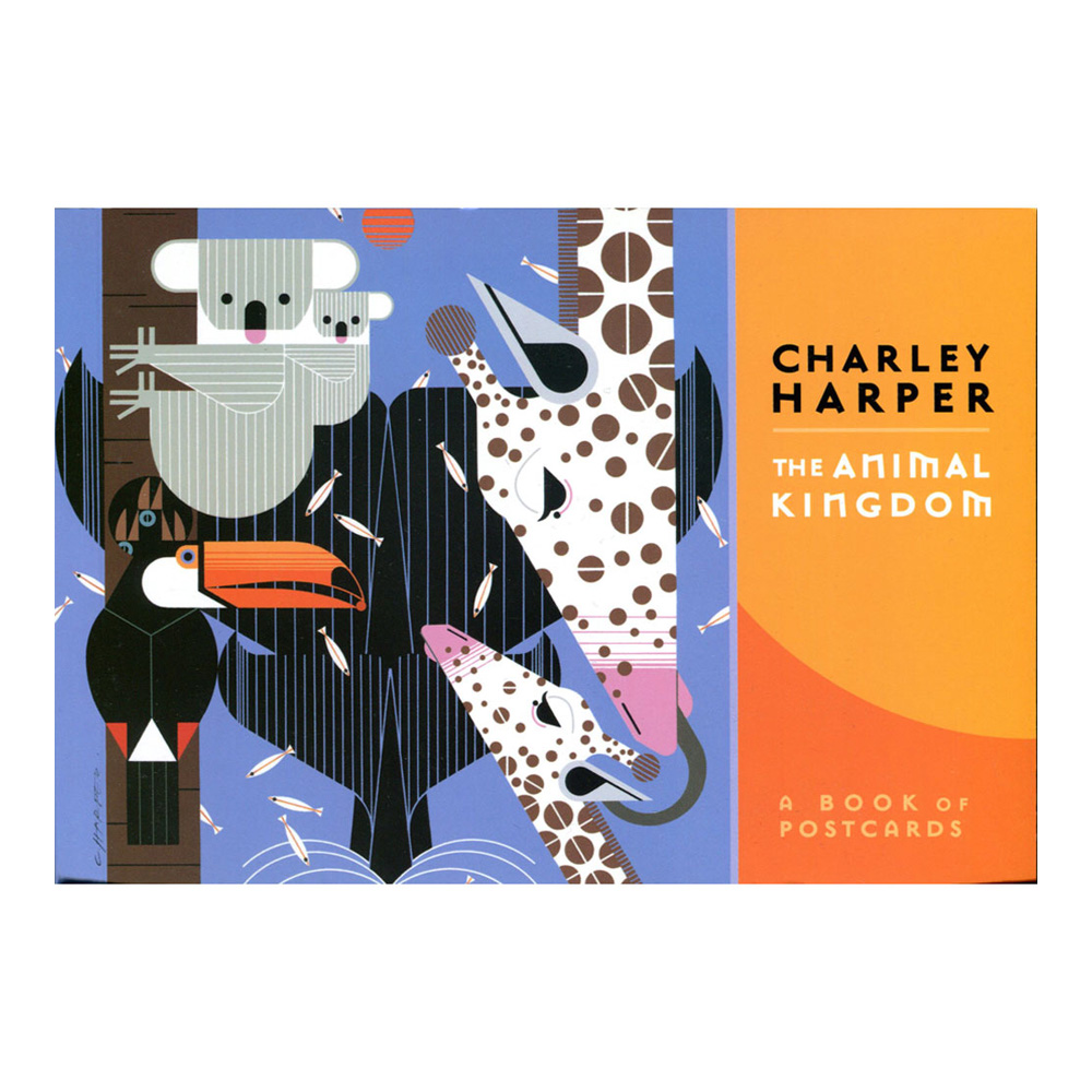 Postcard Book Charley Harper Animals