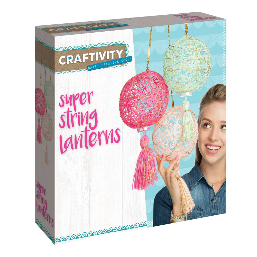 Craftivity Super String Lanterns