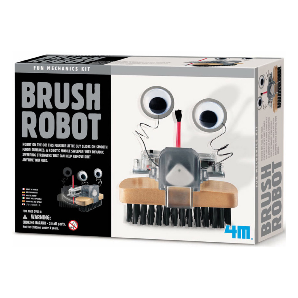 Fun Mechanics Kit Brush Robot