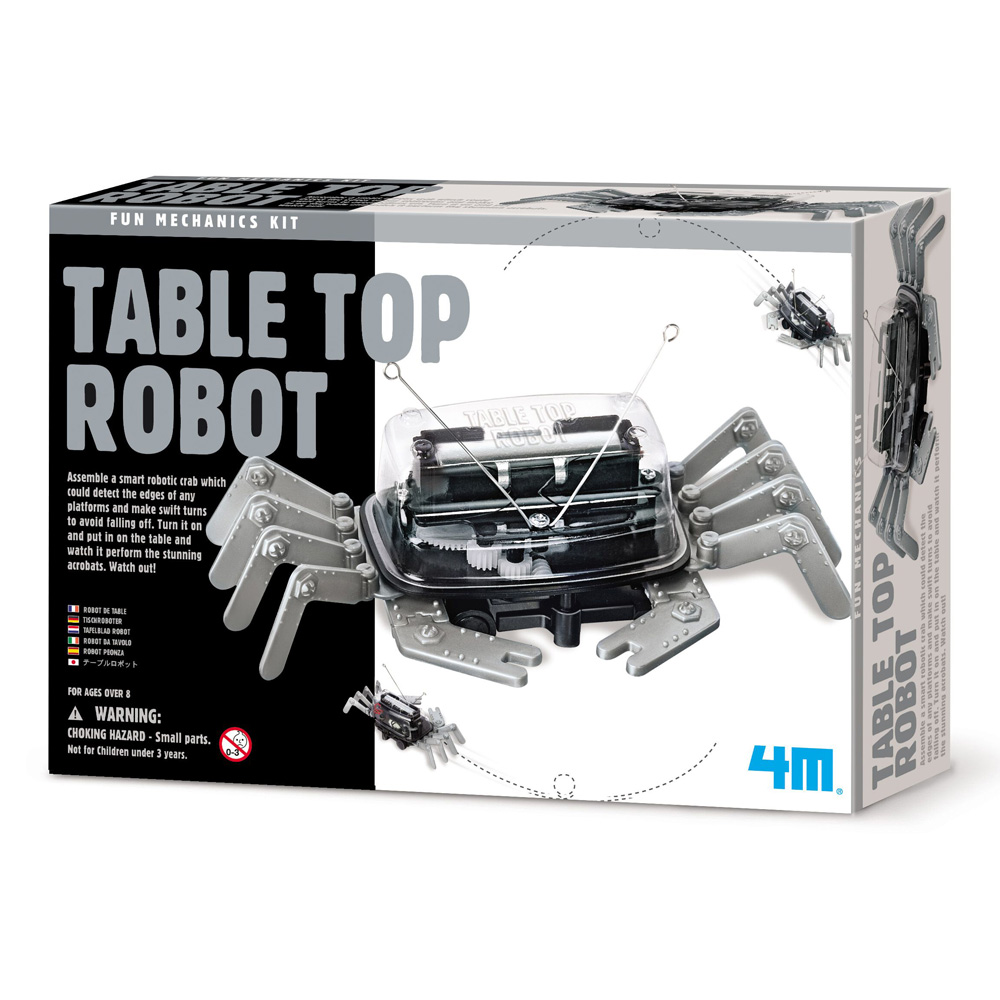 Fun Mechanics Table Top Robot