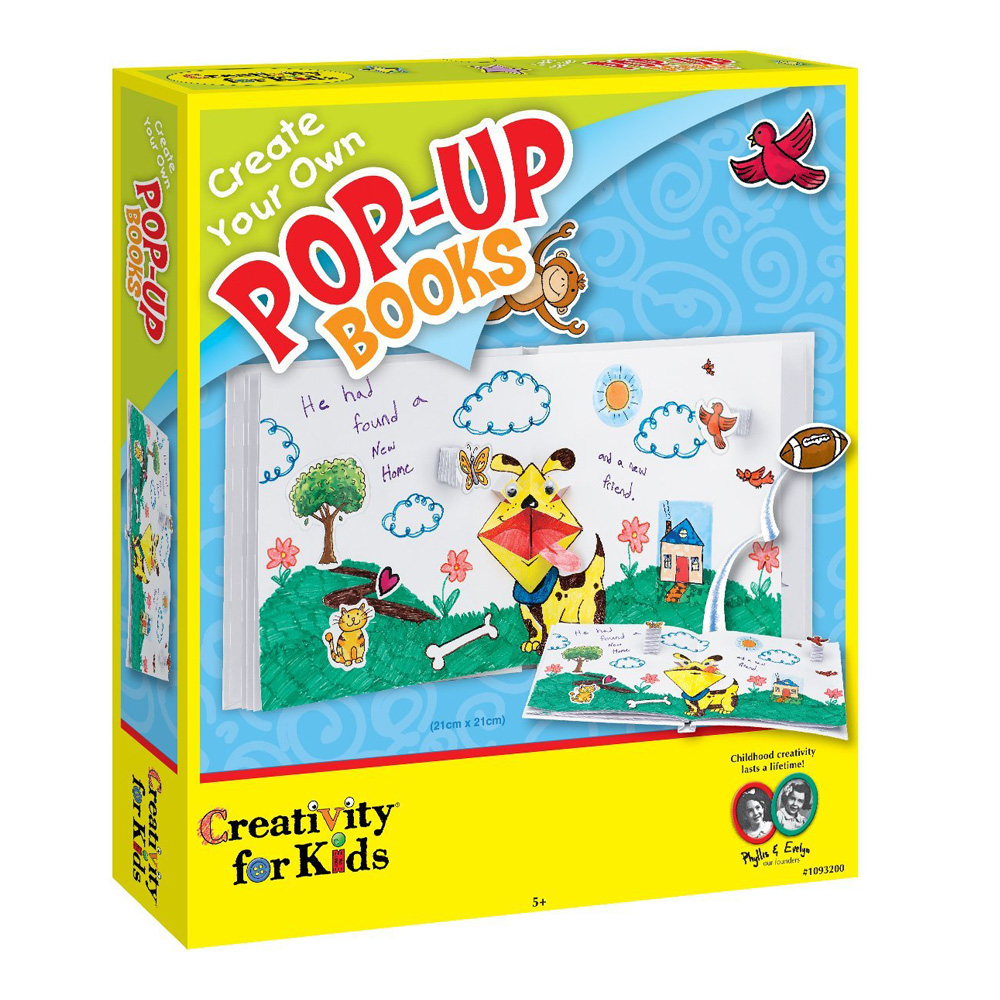 Creativity For Kids Create Pop Up Books