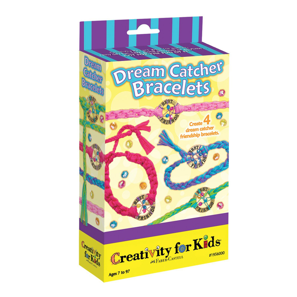 Creativity For Kids Dream Catcher Bracelets