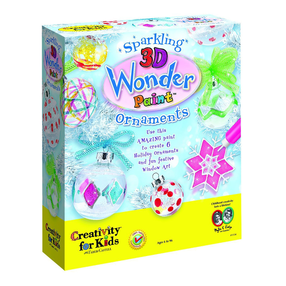 Creativity For Kids Sparkling 3D Ornament
