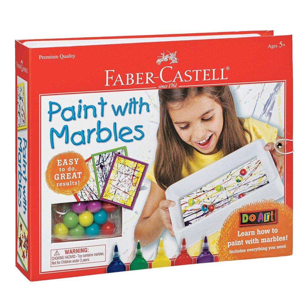 Do Art: Paint With Marbles