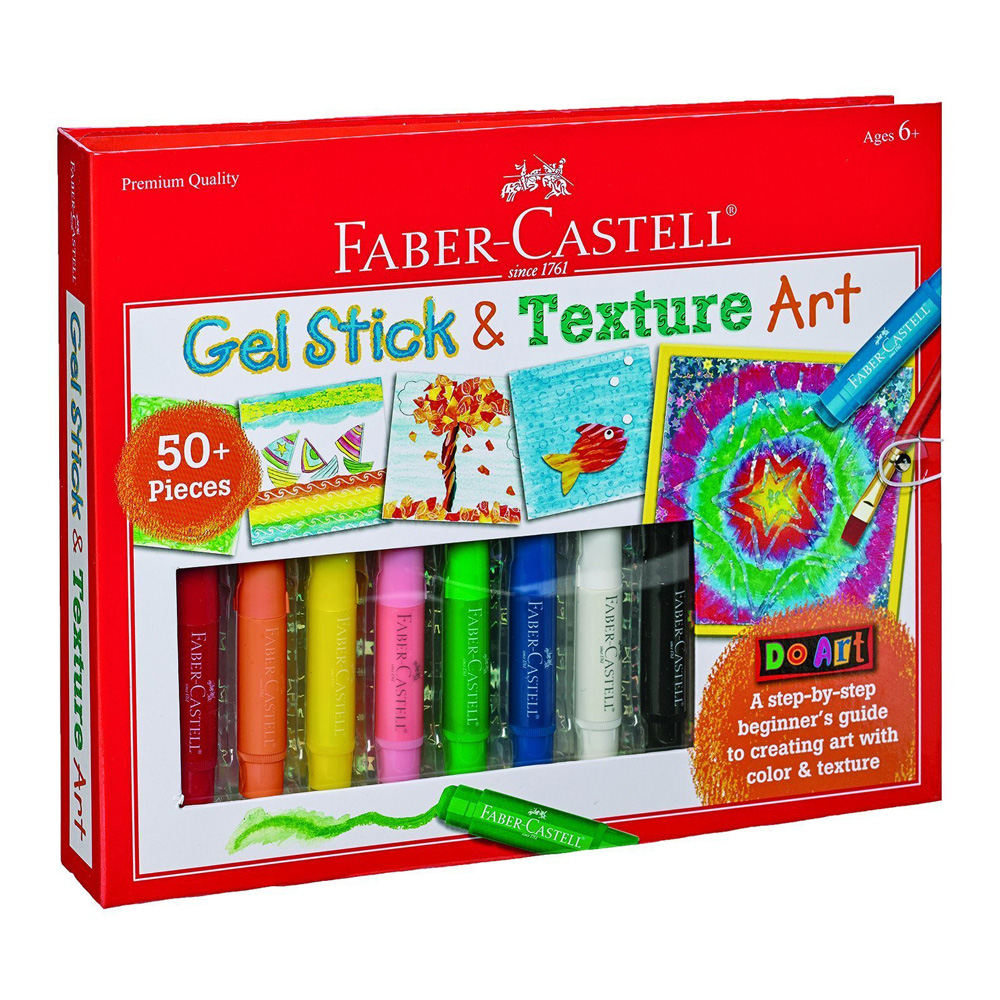 Do Art: Gel Stick And Texture Art