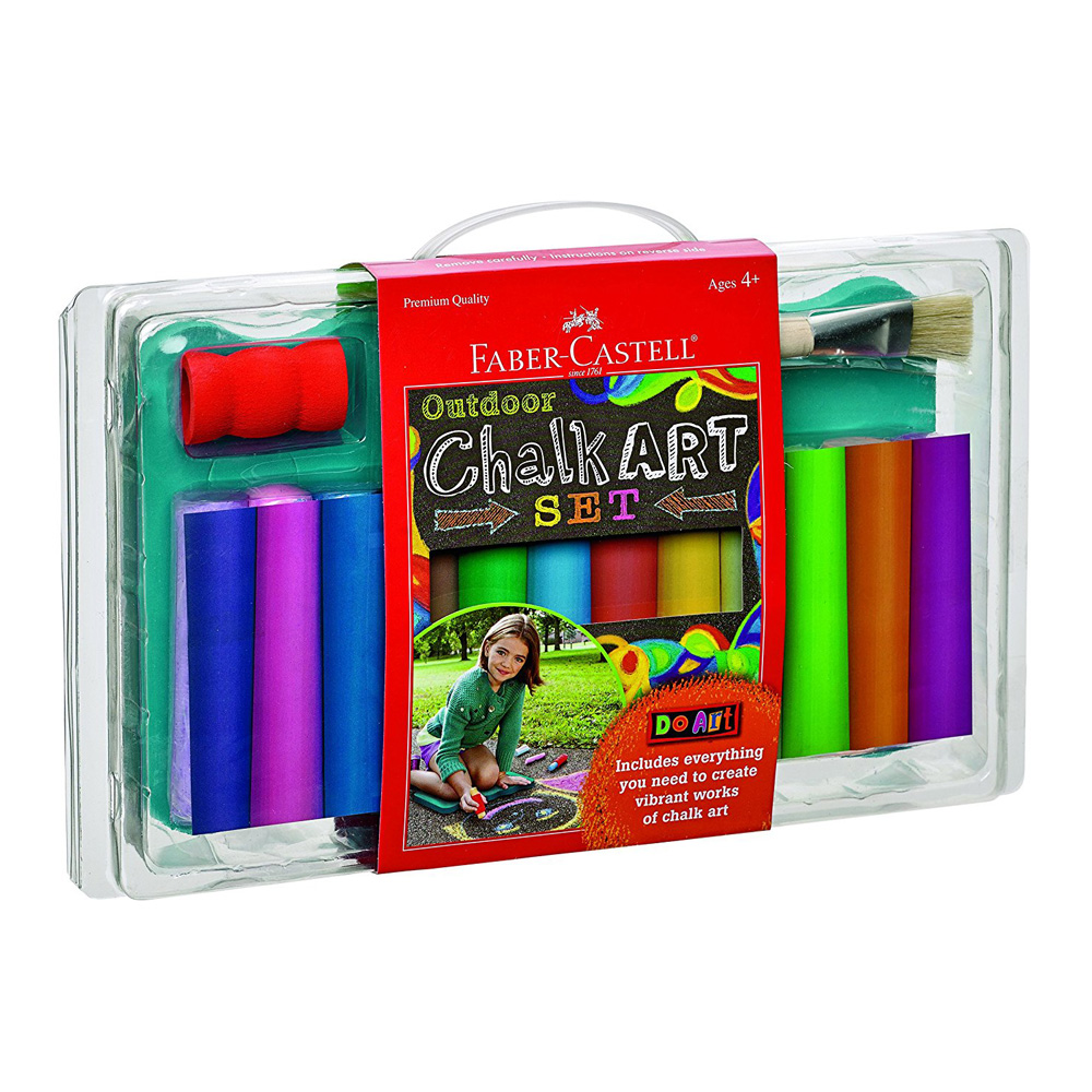 Do Art: Outdoor Chalk Art Set