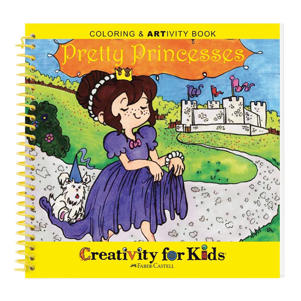 Creativity For Kids Book Pretty Princesses