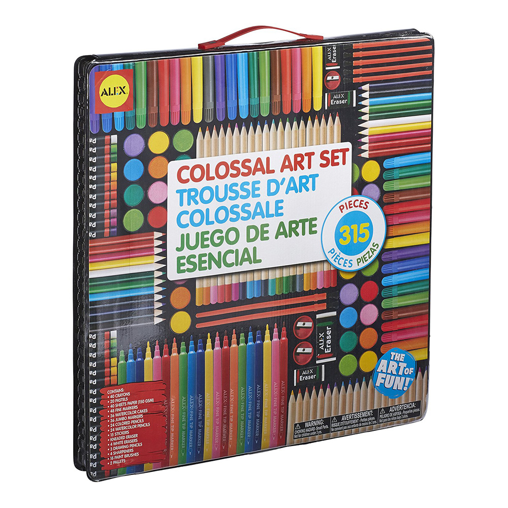 Alex Colossal Art Set - 315 Pieces