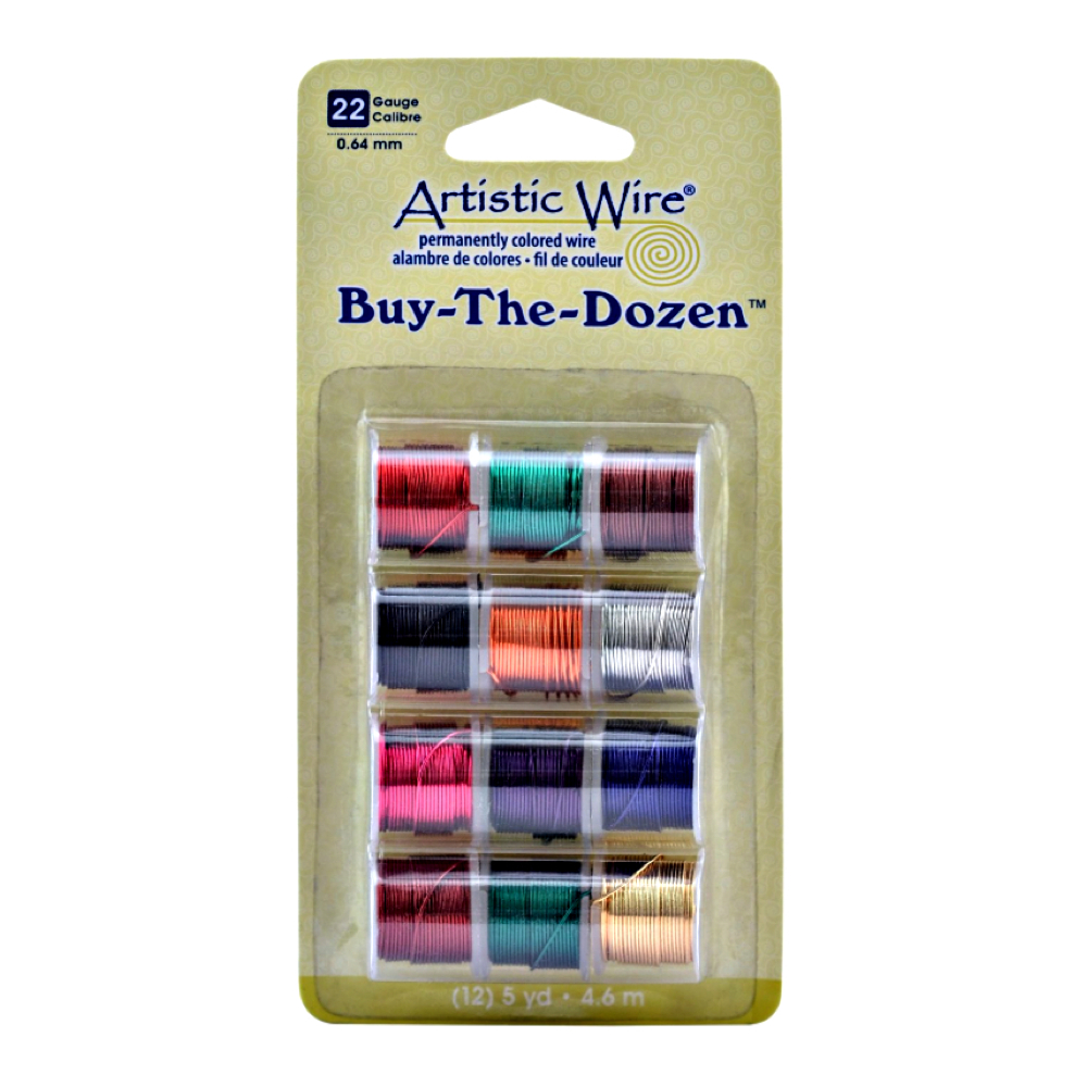 Artistic Wire 22 Gauge 12 Color Assortment