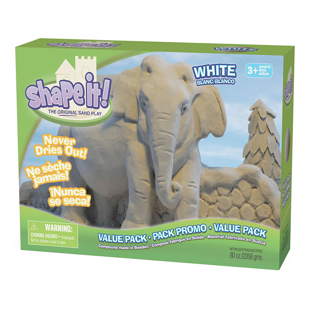 Shape It! Sand White 5Lb Box