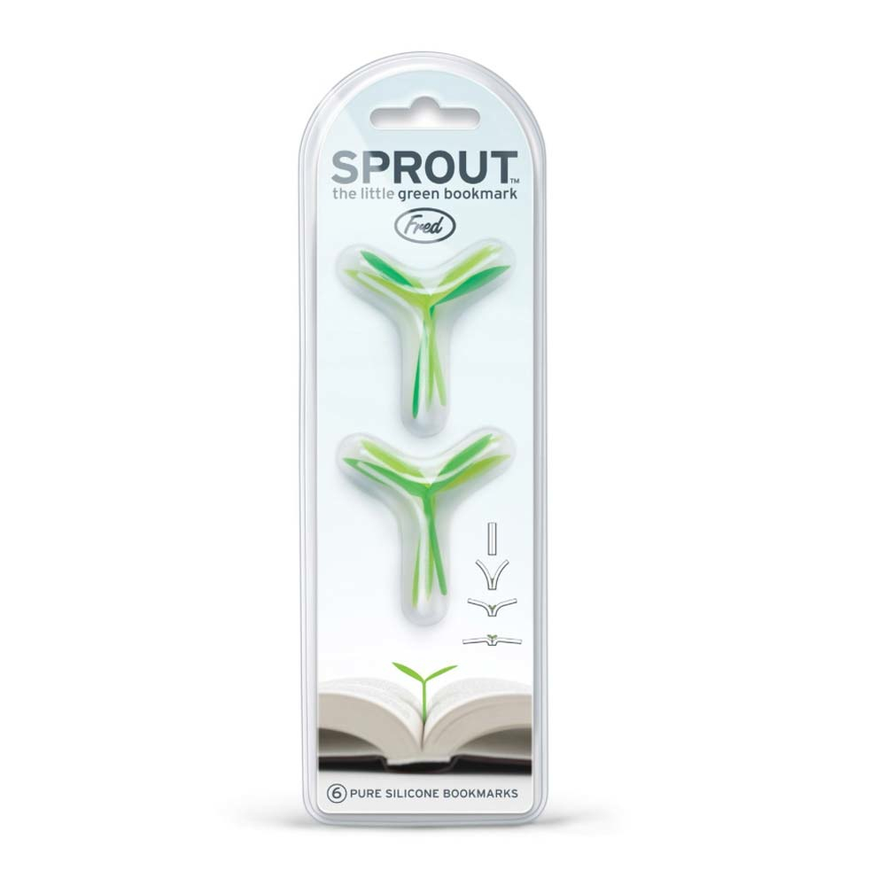 Fred Sprout Bookmarker Set Of 6