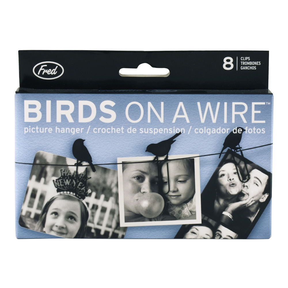 Fred Birds On A Wire Picture Hanger