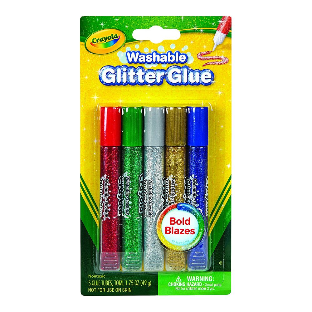 Crayola Glitter Glue Set Of 5