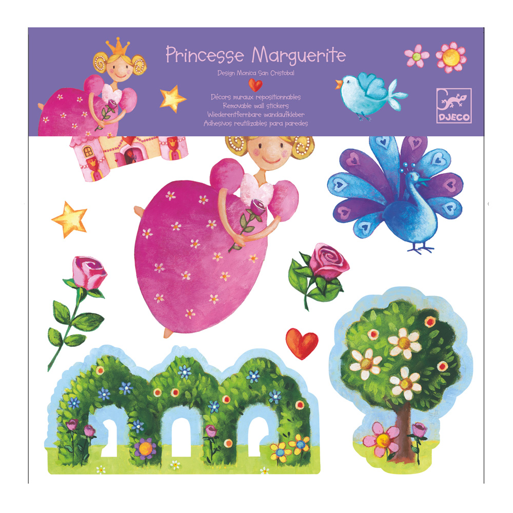Djeco Wall Stickers: Princess Marguerite