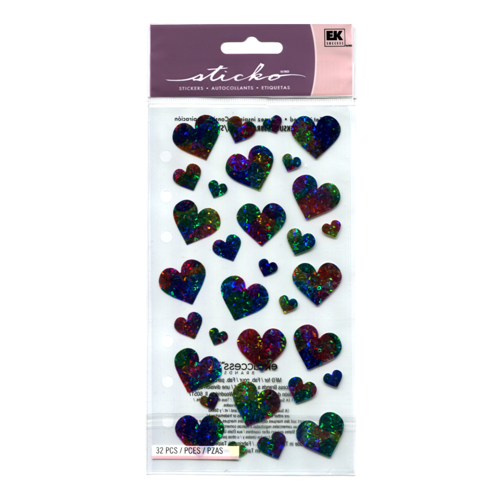 Stickopotamus Stickers Pastel Hearts
