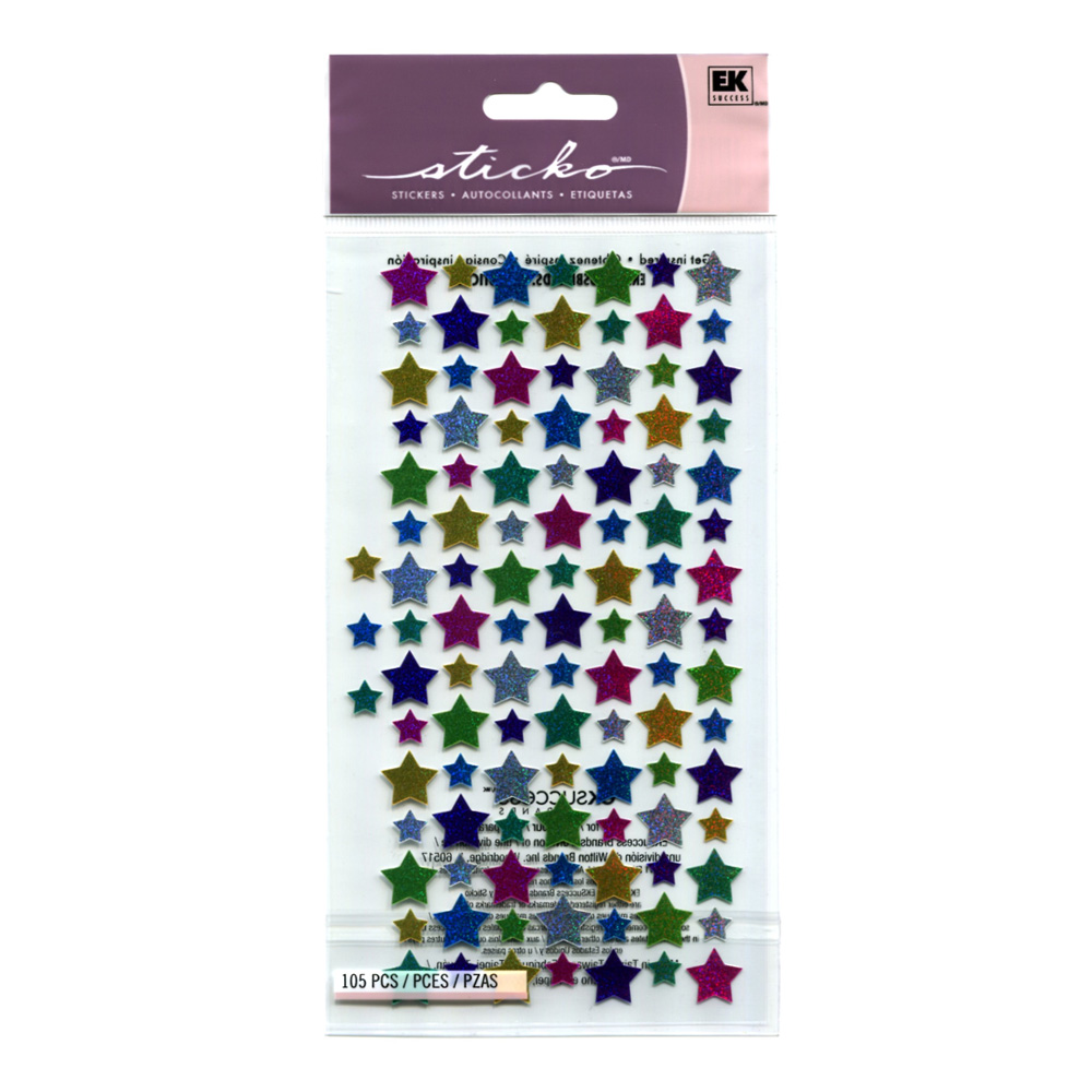 Stickopotamus Stickers Mini Stars