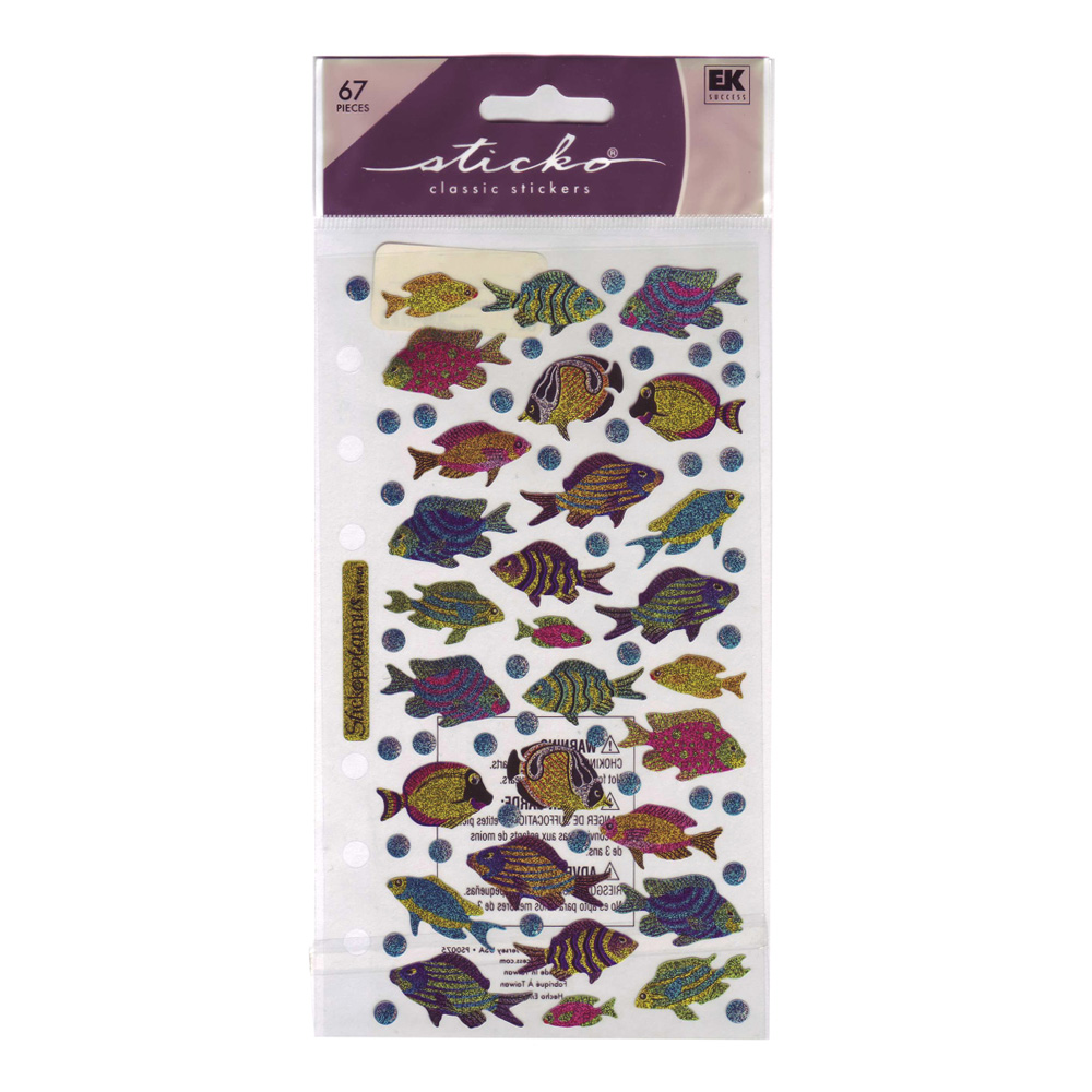 Stickopotamus Stickers Funky Fish